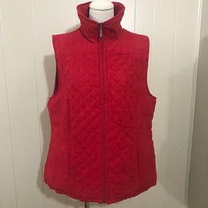 Studio works zip up vest